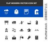 modern  simple vector icon set...   Shutterstock .eps vector #1088807111