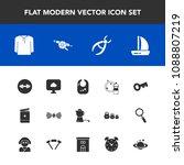 modern  simple vector icon set... | Shutterstock .eps vector #1088807219