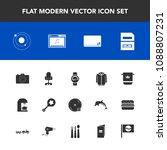 modern  simple vector icon set...   Shutterstock .eps vector #1088807231