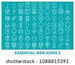essential mixed web icons set... | Shutterstock .eps vector #1088815391