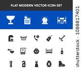 modern  simple vector icon set...   Shutterstock .eps vector #1088817401