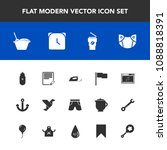 modern  simple vector icon set... | Shutterstock .eps vector #1088818391