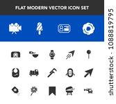modern  simple vector icon set... | Shutterstock .eps vector #1088819795