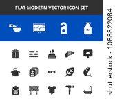 modern  simple vector icon set... | Shutterstock .eps vector #1088822084