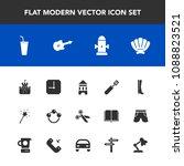 modern  simple vector icon set... | Shutterstock .eps vector #1088823521