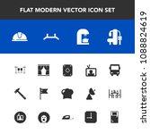 modern  simple vector icon set...   Shutterstock .eps vector #1088824619