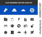 modern  simple vector icon set...   Shutterstock .eps vector #1088825189