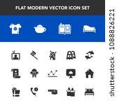 modern  simple vector icon set... | Shutterstock .eps vector #1088826221