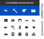 modern  simple vector icon set... | Shutterstock .eps vector #1088827361