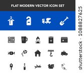 modern  simple vector icon set... | Shutterstock .eps vector #1088827625