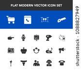 modern  simple vector icon set... | Shutterstock .eps vector #1088827949