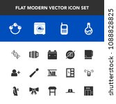 modern  simple vector icon set... | Shutterstock .eps vector #1088828825