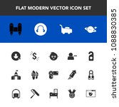 modern  simple vector icon set... | Shutterstock .eps vector #1088830385