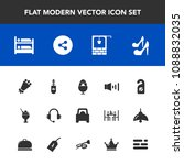 modern  simple vector icon set... | Shutterstock .eps vector #1088832035