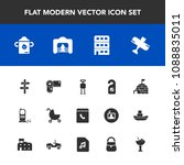 modern  simple vector icon set... | Shutterstock .eps vector #1088835011