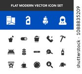 modern  simple vector icon set... | Shutterstock .eps vector #1088835209