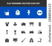 modern  simple vector icon set... | Shutterstock .eps vector #1088836115