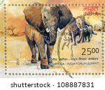 India   Circa 2011  Stamp...