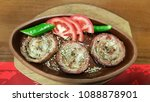this is a turkish food. one... | Shutterstock . vector #1088878901