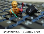 c3po robot from star wars... | Shutterstock . vector #1088894705