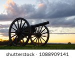 Small photo of Civil War Battlefield Cannon