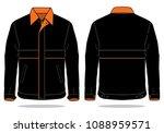 jacket design vector black...   Shutterstock .eps vector #1088959571