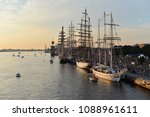 the world largest tall ships... | Shutterstock . vector #1088961611
