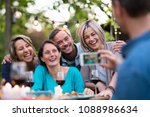 some friends in their forties...   Shutterstock . vector #1088986634