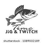 perch fish image   Shutterstock .eps vector #1089032189