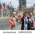 london england   may 8th 2018 ... | Shutterstock . vector #1089052091