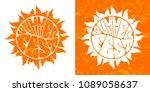 Summer Festival Logo Set. Hand...