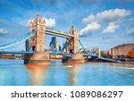 Tower Bridge On A Bright Sunny...