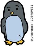 cartoon penguin | Shutterstock . vector #108909581