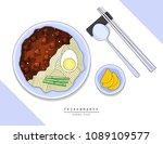 illustration vector flat... | Shutterstock .eps vector #1089109577