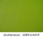 green paint textured wall... | Shutterstock . vector #1089114419