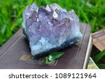 large amethyst druze with... | Shutterstock . vector #1089121964