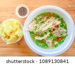 boiled pork bone spicy.thai... | Shutterstock . vector #1089130841