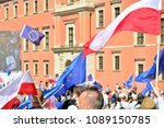 warsaw.polans. 12 may 2018....   Shutterstock . vector #1089150785
