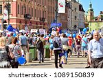 warsaw.polans. 12 may 2018....   Shutterstock . vector #1089150839