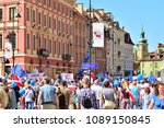 warsaw.polans. 12 may 2018....   Shutterstock . vector #1089150845