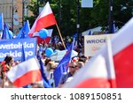 warsaw.polans. 12 may 2018....   Shutterstock . vector #1089150851