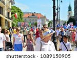 warsaw.polans. 12 may 2018....   Shutterstock . vector #1089150905