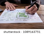 Businessperson's Hand Drawing...