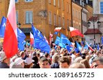 warsaw.polans. 12 may 2018....   Shutterstock . vector #1089165725