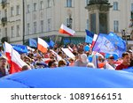 warsaw.polans. 12 may 2018....   Shutterstock . vector #1089166151