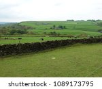 rolling english countryside.... | Shutterstock . vector #1089173795