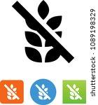 gluten free icon | Shutterstock .eps vector #1089198329
