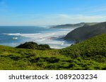 beach at the east london coast... | Shutterstock . vector #1089203234