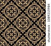seamless geometrical pattern... | Shutterstock .eps vector #1089215984