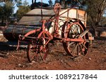 quorn south australia  obsolete ... | Shutterstock . vector #1089217844